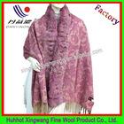 Fashion rabbit fur shawls