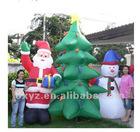 christmas ornament xmas tree and snowman