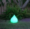 Fashion Tear drop remote control waterproof color changing rgb led
