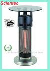 SH1265F 2012 ETL Approval Glass Table Top Carbon Fibre Patio Heater