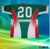 sublimated custom fashional rugby tops
