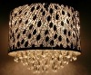 Stainless Stell Pendant lamp with crystal