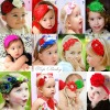2012 New Year Christmas Headband for baby new design baby headband with feather