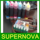Continuous ink system with sublimation ink CISS for Epson desktop printer