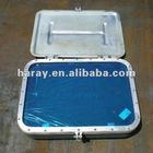 Marine welded aluminum rectangular porthole