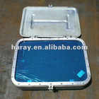 Marine welded aluminum rectangular porthole