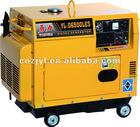 5KW soundproof power diesel generator with kama engine
