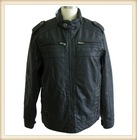 2013 Newest Stylish Men Warm Leather Jacket