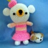 Crocheted Toy, Handmade Lovely Doll (15264)