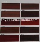 HIGH GLOSS RIGID PVC WOOD GRAIN DECORATIVE SHEETS