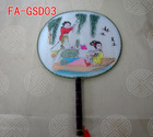 chinese style palace fan hand fan