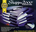 Shappu 2000 10 Piece Knife Set,Piece Knife Set