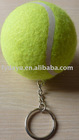 TENNIS BALL WITH KEY CHAIN