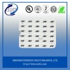 aluminum pcb with white oil and hasl surface type