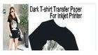 Inkjet Heat Transfer Paper(Dark)--A4 Size