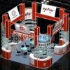 custom design aluminum exhibition booth