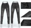 Top brand nice look hot sex leggings for wmen---denim leggings with pocket
