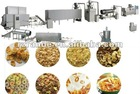 Inflating snack food production line