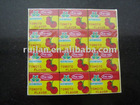 envelope package fish seasoning cubes