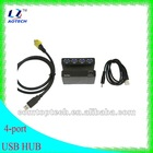2012 new design usb 3.0 hub 4-port micro usb hub