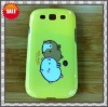 Smart cartoon plastic case for sumsung i9300