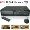 8 Channel CCTV H.264 HD D1 Real-time Security Surveillance DVR with HDMI Ypbpr VGA and Loop Output