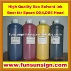 Eco Solvent Ink for Epson head,Roland printer,Mimaki printer,Mouth printer