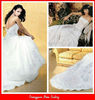 BG6 catheral/royal train wedding gown