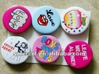 hot sell promotional diameter 20mm/25mm/30mm/44mm tin badge