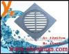 Zinc square floor drain for Europe market-12*12cm size