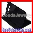 Classic Black Leather FlipStand Hybrid Cases For Samsung Galaxy S3 i9300