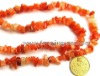 Red aventurine stone gravel,stone beads | diy jewelry beads