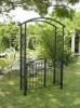 wrought iron garden arch with gate LMGRG-51000