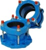 PE PVC UPVC PIPE Universal Flange Adaptor Coupling