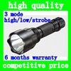 High quality aluminum alloy CREE Q5 rechargeable flashlight bike front LED light bicycle