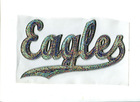 $ 1.5/pcs eagels sequins silver hotfix transfer design