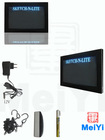 2012 new full color store bank advertising display led writing board with logo