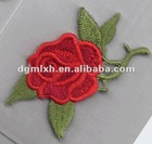 Embroidery Rose Patches Embroidery Flower Patches