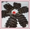 Grade AAAA unprocessed 100% virgin brazilian hair weaving natural black can be dye any color