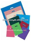 PE die cut printed plastic bags on sales 2012
