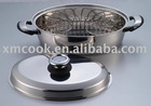 Stainless steel oval roaster (XM-1027 FS)
