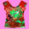 Sublimated lady's/women's t shirts
