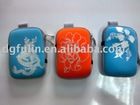 Neoprene colourful digital camera or cell cover and case