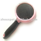 Pet Grooming Brush with Stainless Pins, various colours available