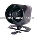 12v small car alarm siren with back up battery;