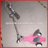 three wheeled fitness safe protection funny alloy pedals toy scooters