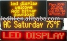 led indoor sign/led time/date display/led running message sign