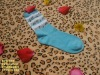 cotton knitted ankle socks for kids
