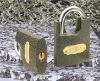 PLASTIC PAINTED SHACKLE PROTECTED PADLOCK