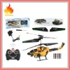 QS8009 Metal 3.5ch Mini RC helicopter 8009 Remote Control helicopter with light RTF ready to fly
